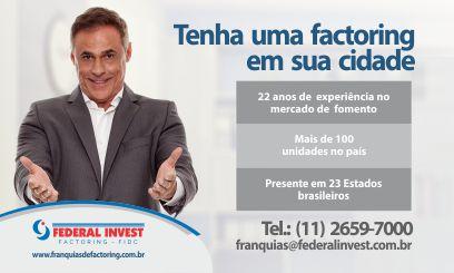 Informações, Dados e Números da Franquia Federal Invest no Portal de Franquias Top Franquia
