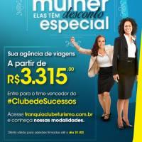 Título da Notícia 299: Franquia Clube Turismo lança campanha para atrair empreendedoras - Encontre franquia ou franquias entre as melhores franquias de sucesso no top franquia, para comprar franquia e abrir sua franquia.